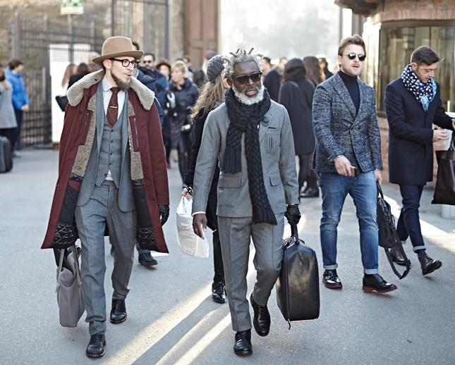 Pitti uomo 2016: i cappotti in stile Star Wars
